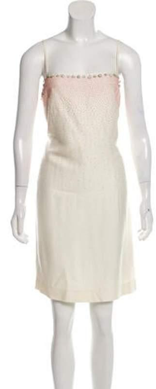 Valentino Embellished Dress Embellished Dress