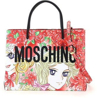 Moschino Graphic Print Tote Bag