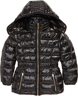 Moose Knuckles Domremy Quilted Down Jacket with Removable Hood