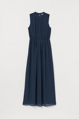 H&M Long Chiffon Dress