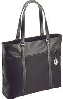 "Mobile Edge Women's Ultra Tote with Leather Trim- 15.4""PC/17""Mac"