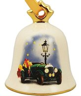 Goebel 2015 Annual Dated Christmas Bell Ornament 32nd Edition