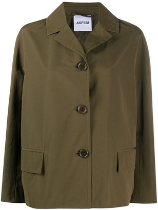 Aspesi Notch-Lapel Military Jacket