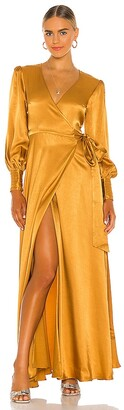 House Of Harlow x REVOLVE Maxi Wrap Dress