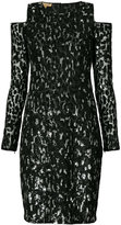 Michael Kors cut-out sequin dress
