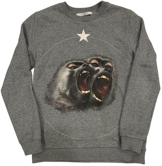 Givenchy Grey Cotton Knitwear for Women