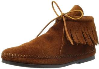 Minnetonka Women's Classic Fringe 682 Ankle Boots, Brown (Brown), 36 EU