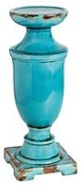 "A&B Home Ceramic Pillar Candle Holder - Blue (16"")"