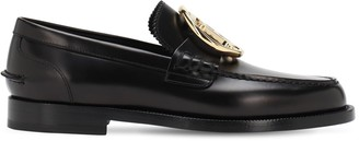 Burberry Patent Leather Loafers
