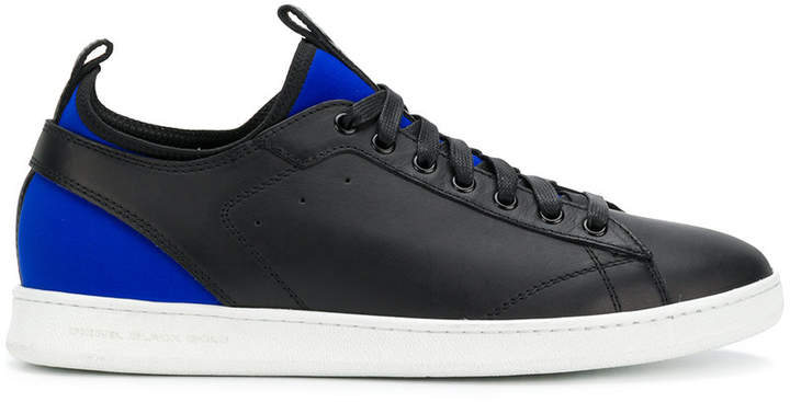 Diesel Black Gold neoprene-panelled sneakers