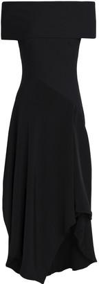 Chalayan Off-the-shoulder Ruffled Silk Midi Dress