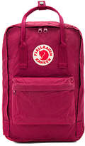 Fjallraven Kanken Laptop 15 in Red.