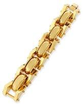 Lele Sadoughi 24k Gold-Plated Satellite Link Bracelet