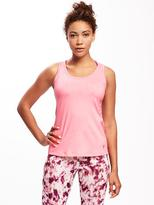 Old Navy Fitted Go-Dry Cool Crossback Keyhole Tank for Women