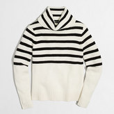 J.Crew Factory Striped turtleneck sweater