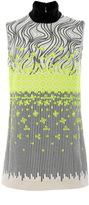 Giambattista Valli Sleeveless Turtleneck Mini Dress