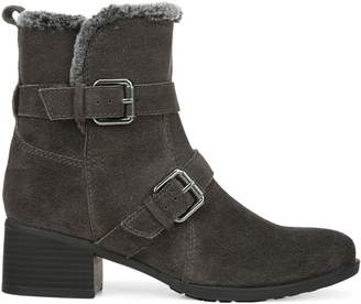 Naturalizer Deanne Faux Fur-Lined Leather Booties