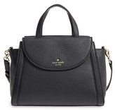 Kate Spade Cobble Hill - Medium Adrien Leather Satchel - Black