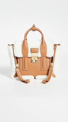 3.1 Phillip Lim Pashli Mini Shearling Satchel