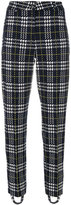 Cambio houndstooth tapered trousers