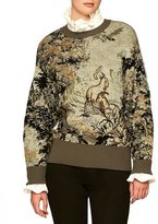 Burberry Forest Tapestry Intarsia Sweater