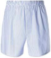 Sky Blue Stripe Woven Boxers Size Large