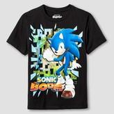 Sonic Boys' Sonic Boom Graphic T-Shirt - Black