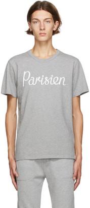 MAISON KITSUNÉ Grey Parisien Classic T-Shirt