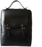 Lupin Kartu Studio Leather Backpack ''Lupin'' Black