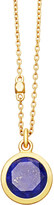 Astley Clarke Stilla 18ct gold-plated lapis lazuli pendant necklace
