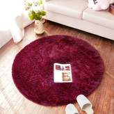 SANNIX Round Shaggy Area Rugs and Carpet Super Soft Bedroom Carpet Rug for Kids Play (,1.2X2M)
