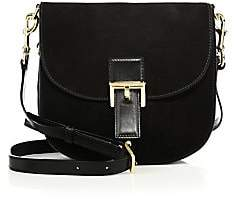 Marc Jacobs Women's NS Decoy Suede Saddle Bag