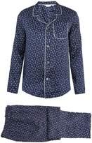 Derek Rose Brindisi silk-satin pyjama set
