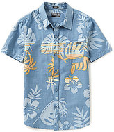 O'Neill Big Boys 8-20 Brotanical Tropical-Print Short-Sleeve Woven Shirt