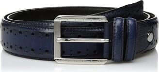 Stacy Adams Men's Metcalf Brogue Detailing Belt