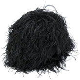 Gianluca Capannolo feather hat - women - other fibers - S