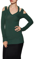 Bailey 44 Cut-Out Cold Shoulder V-Neck Sweater