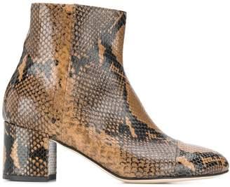 Paris Texas snake print boots