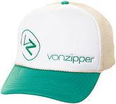 Von Zipper New Vonzipper Men's Moby Two Tone Trucker Cap Mesh Blue N/A