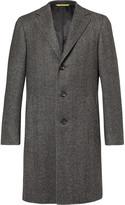 Canali - Kei Slim-fit Herringbone Wool Coat