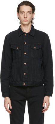 Nudie Jeans Black Denim Bobby Jacket