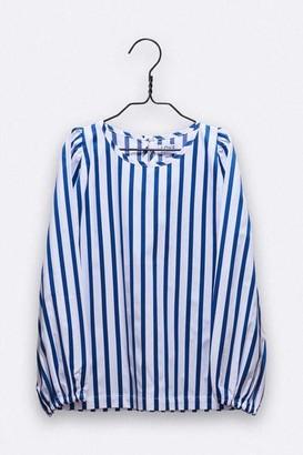 LOVE kidswear - Polly Blouse In Blue White Stripes - 110/116