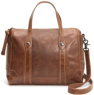 Frye Melissa Double Handle Leather Satchel