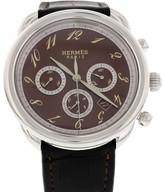 Hermes AR4.910 Arceau Stainless Steel Mens Watch