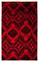"""Moroccan Collection Oriental Rug, 4'10"""" x 8'1"""""""