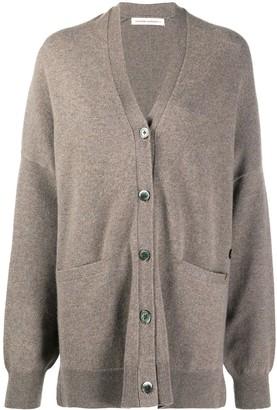 Extreme Cashmere Button-Down Cashmere Cardigan