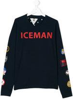 Macchia J badge print sweatshirt