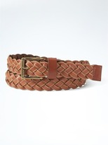 Banana Republic Vachetta Braided Belt