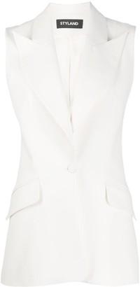 Styland Longline Tailored Waistcoat