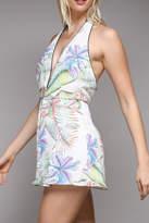Do & Be Tropical Print Romper